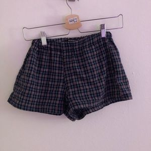 Brandy Melville plaid shorts